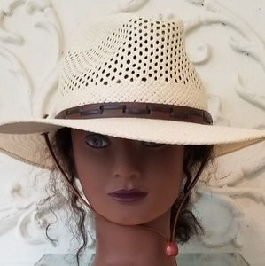 Stetson Airway UV Protection Straw Hat NWT